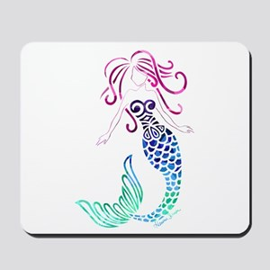 Tribal Mystic Mermaid Mousepad