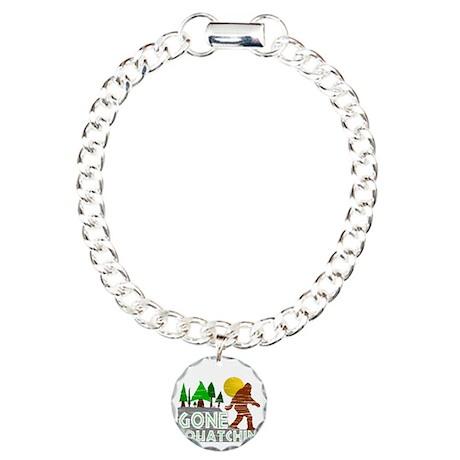 Gone Squatchin Vintage R Charm Bracelet, One Charm