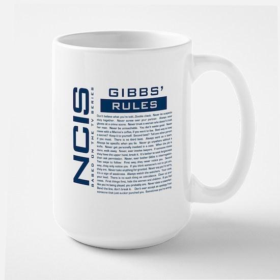 NCIS Gibbs Rules Mugs