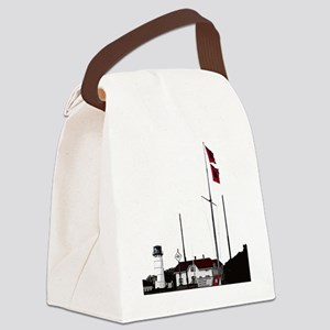 Hurricane Flags, Chatham Light Canvas Lunch Bag