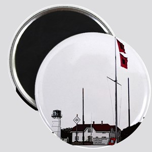 Hurricane Flags, Chatham Light Magnet