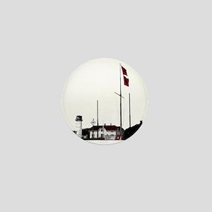 Hurricane Flags, Chatham Light Mini Button