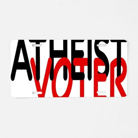 voterrectangle Aluminum License Plate