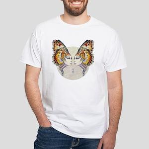 Alien Butterfly Fantasy 5 White T-Shirt
