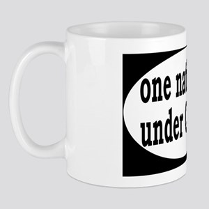 undercanadaoval Mug