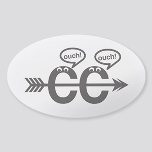 Cross Country - Ouch! Sticker