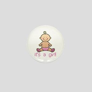 New Baby Girl Cartoon Mini Button