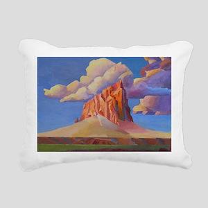 SHIPROCK, NEW MEXICO Rectangular Canvas Pillow