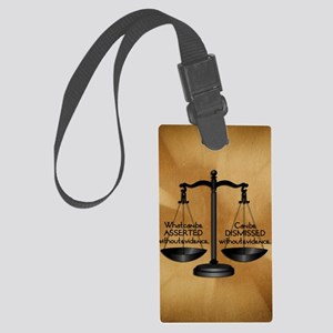EVIDENCEipad sleeve Large Luggage Tag