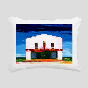 TEXAS THEATER Rectangular Canvas Pillow