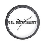 Oil Merchant Wall Clock