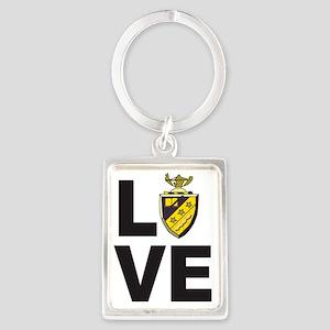 Phi Sigma Pi Love Portrait Keychain