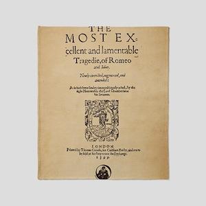 romeoandjuliet-1599-poster-ipad Throw Blanket
