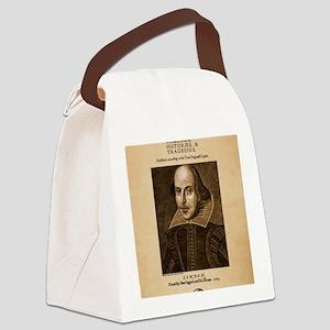 first_folio-16x20-ipad2 Canvas Lunch Bag
