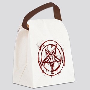 Bloody Baphomet Canvas Lunch Bag