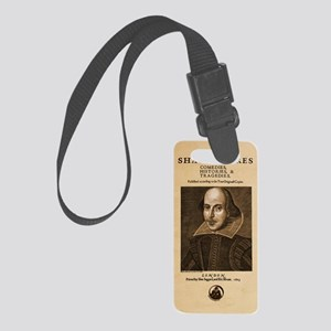 first_folio-16x20-iphonesnap Small Luggage Tag