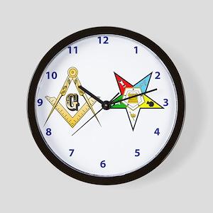 Masonic - Eastern Star modern clock Wall Clock
