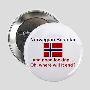 """Gd Lkg Norwegian Bestefar 2.25"""" Button"""