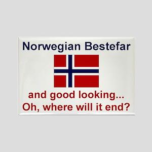 Gd Lkg Norwegian Bestefar Mylar Magnet
