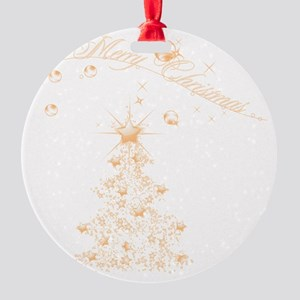 gc_kids_all_over_828_H_F Round Ornament
