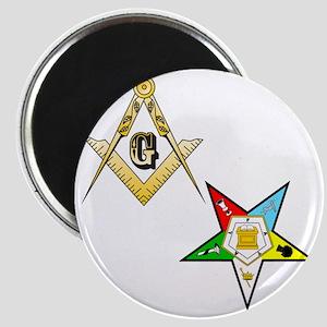 Masonic - Eastern Star glass Magnet