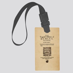 hamlet-1605-poster-iphone3 Large Luggage Tag