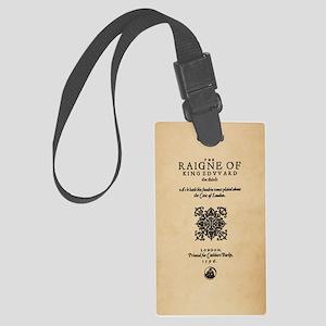 King-Edward-1596-iphone3 Large Luggage Tag