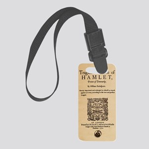 hamlet-1605-poster-iphone5 Small Luggage Tag