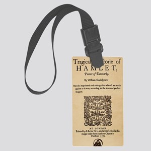 hamlet-1605-poster-ipod4 Large Luggage Tag