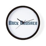 Rock Crusher Wall Clock