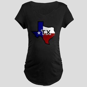 TX - Texas Maternity Dark T-Shirt