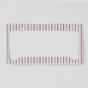 pillowcase Aiyana all stripe License Plate Holder