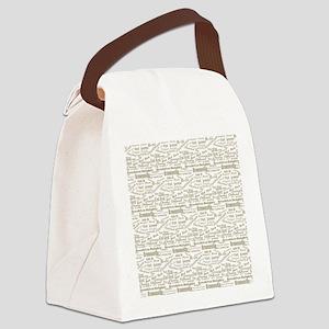 Brooklyn Hoods Canvas Lunch Bag