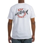 Big Barracuda Fitted T-Shirt