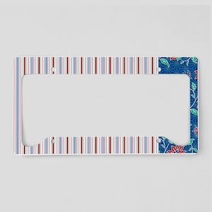 pillowcase Aiyana stripe 2 License Plate Holder