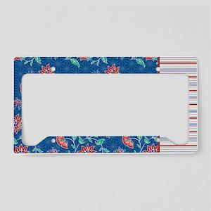 pillowcase Aiyana stripe License Plate Holder