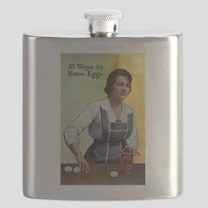 Royal Baking Powder 1917 Flask