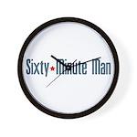 Sixty-Minute Man Wall Clock