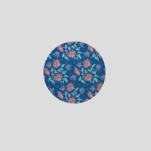 duvet king aiyana blue Mini Button