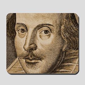 Droeshout Shakespeare Mousepad
