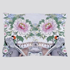 King Duvet Pheasant Peony Floral Botan Pillow Case