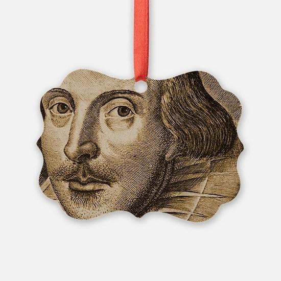 Droeshouts Shakespeare Ornament