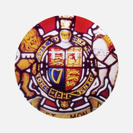 Coat of Arms Round Ornament