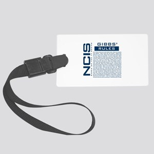 NCIS Gibbs Rules Luggage Tag