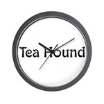 Tea Hound Wall Clock