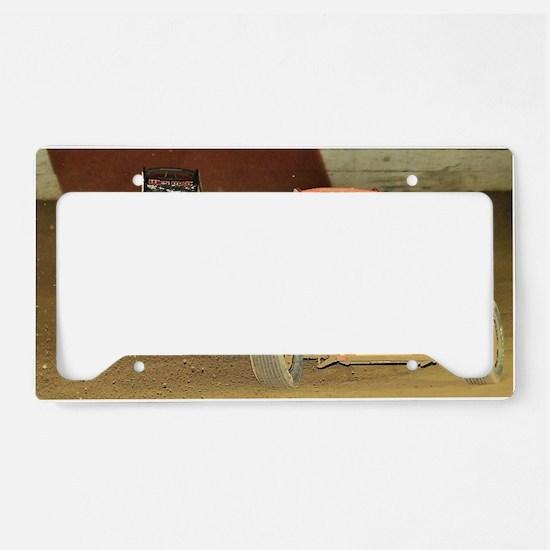 January License Plate Holder