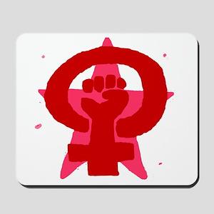 Socialist Feminist No Text Mousepad