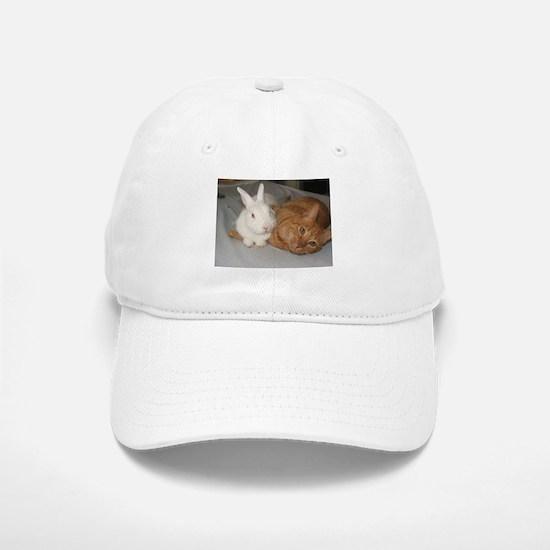 Bunny_Cat Baseball Baseball Cap