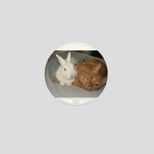 Bunny_Cat Mini Button