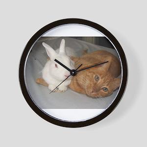 Bunny_Cat Wall Clock